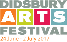 Gold Sponsor for the Didsbury Arts Festival