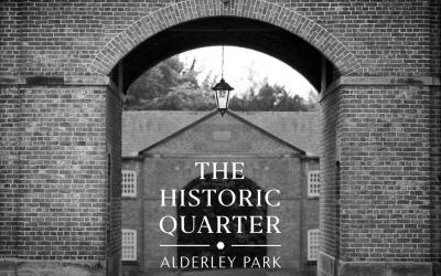 The Historic Quarter at Alderley Park is underway