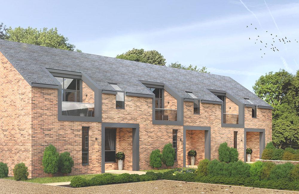 New Didsbury Villas on Sandhurst Road