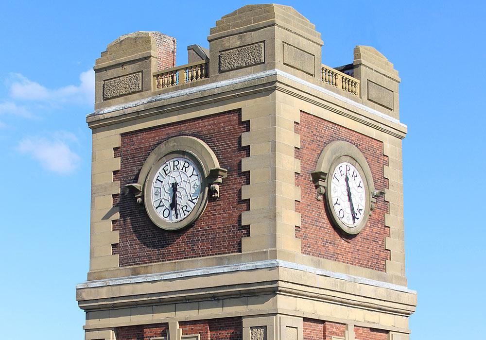 Breathtaking clock tower in York