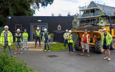THE CONTACTORS HELPING BUILD STORETON HALL